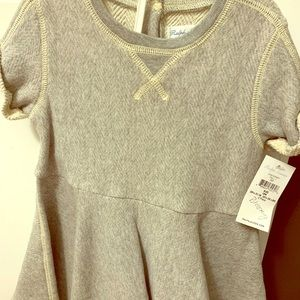 Ralph Lauren grey sweatshirt dress